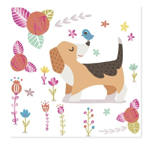 Mothers Day Card Puppies