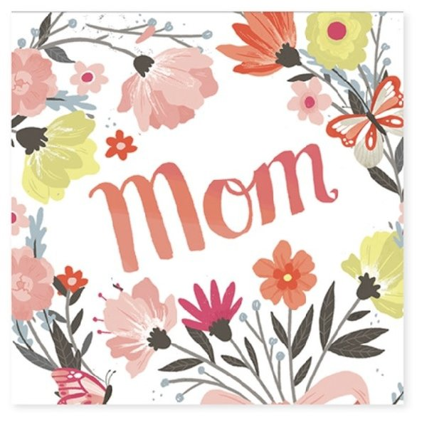 Mother's Day Card Springtime Bouquet