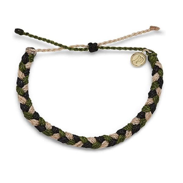 Puravida For the Troops Charity Braided Camo
