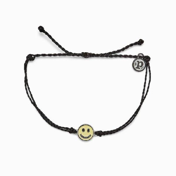 Pura Vida Enamel Happy Face Bracelet