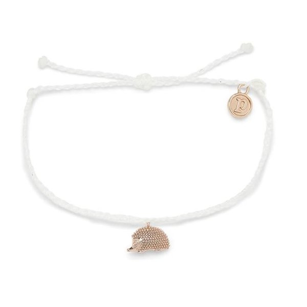 Pura Vida Rose Gold Hedgehog Bracelet