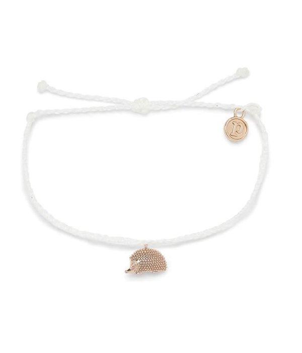 Pura Vida Pura Vida Rose Gold Hedgehog Bracelet