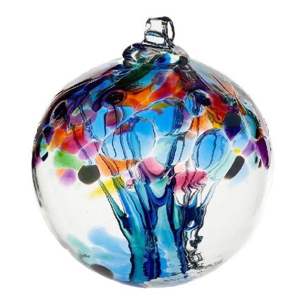 Tree Of Caring Glass Ball