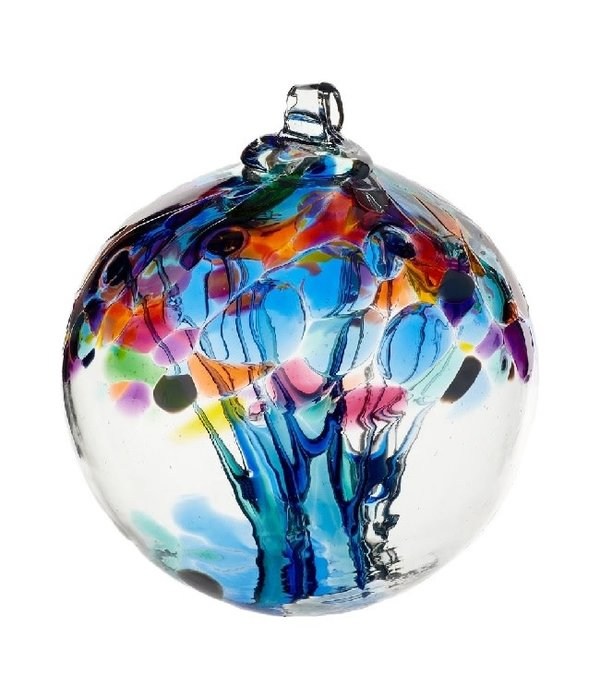 Kitras Glass Tree Of Caring Glass Ball