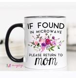 Microwave Return to Mom Mug
