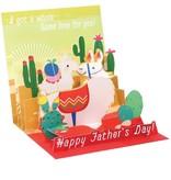 Father's Day Papa Llama Card