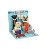 Father's Day From The Dogs Card