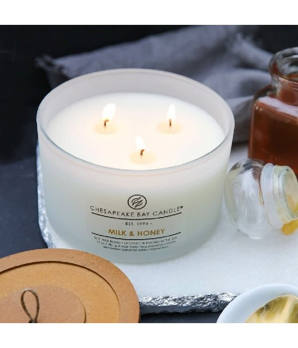 Milk and Honey Candle