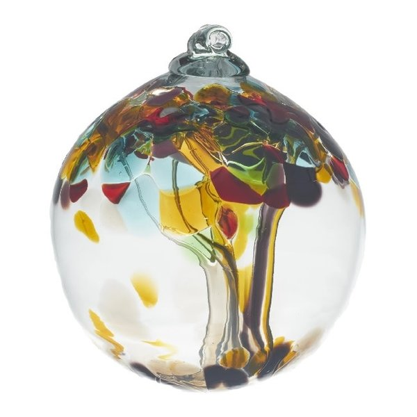 Tree Of Luck Glass Ball