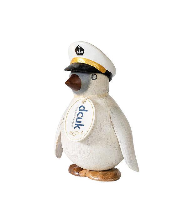 Penguin With Captain Hat