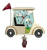 Allen Designs Golf Cart Clock