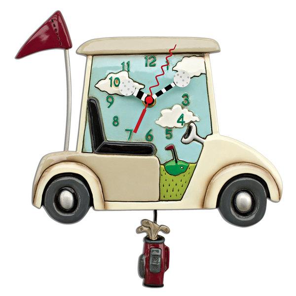 Golf Cart Clock