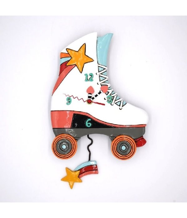 Allen Designs Roller Skate Clock