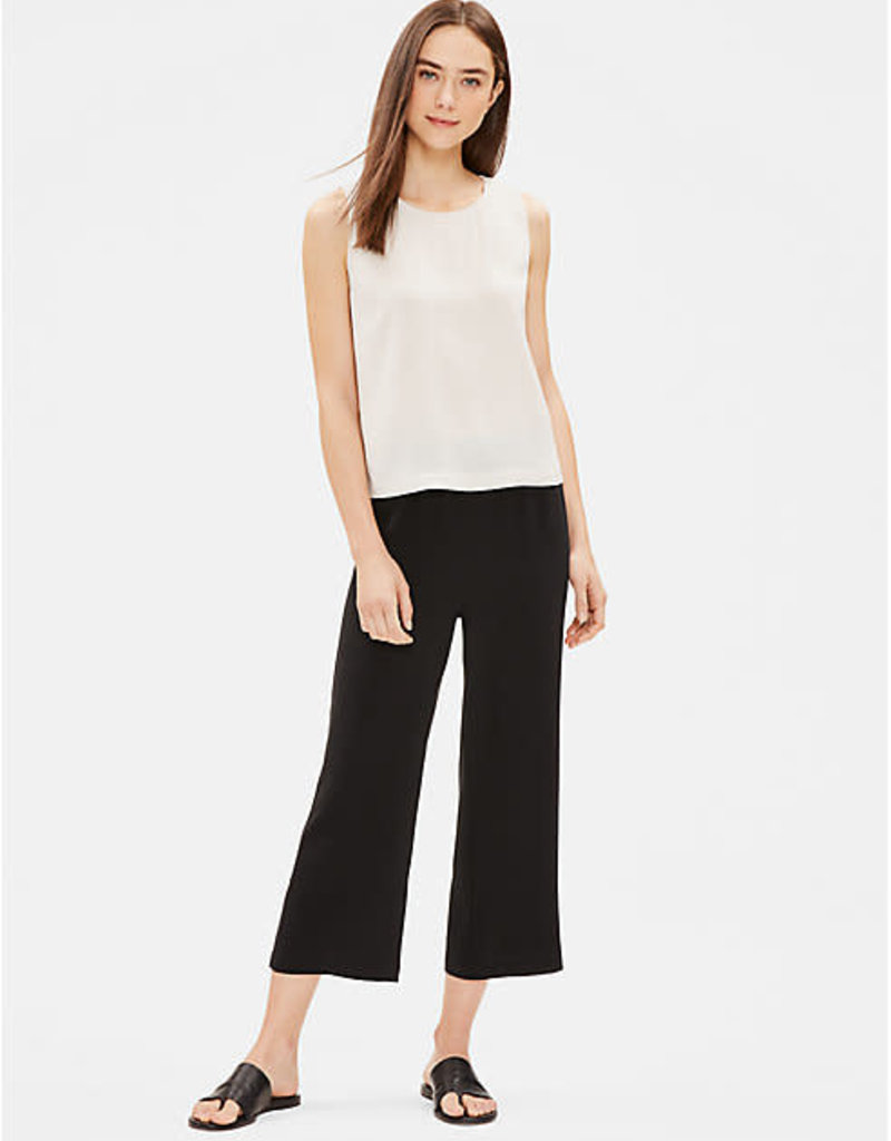 EILEEN FISHER - The System Silk George Crepe Tank