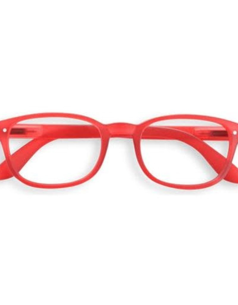 IZIPIZI - The Rectangular Reading Glasses in red