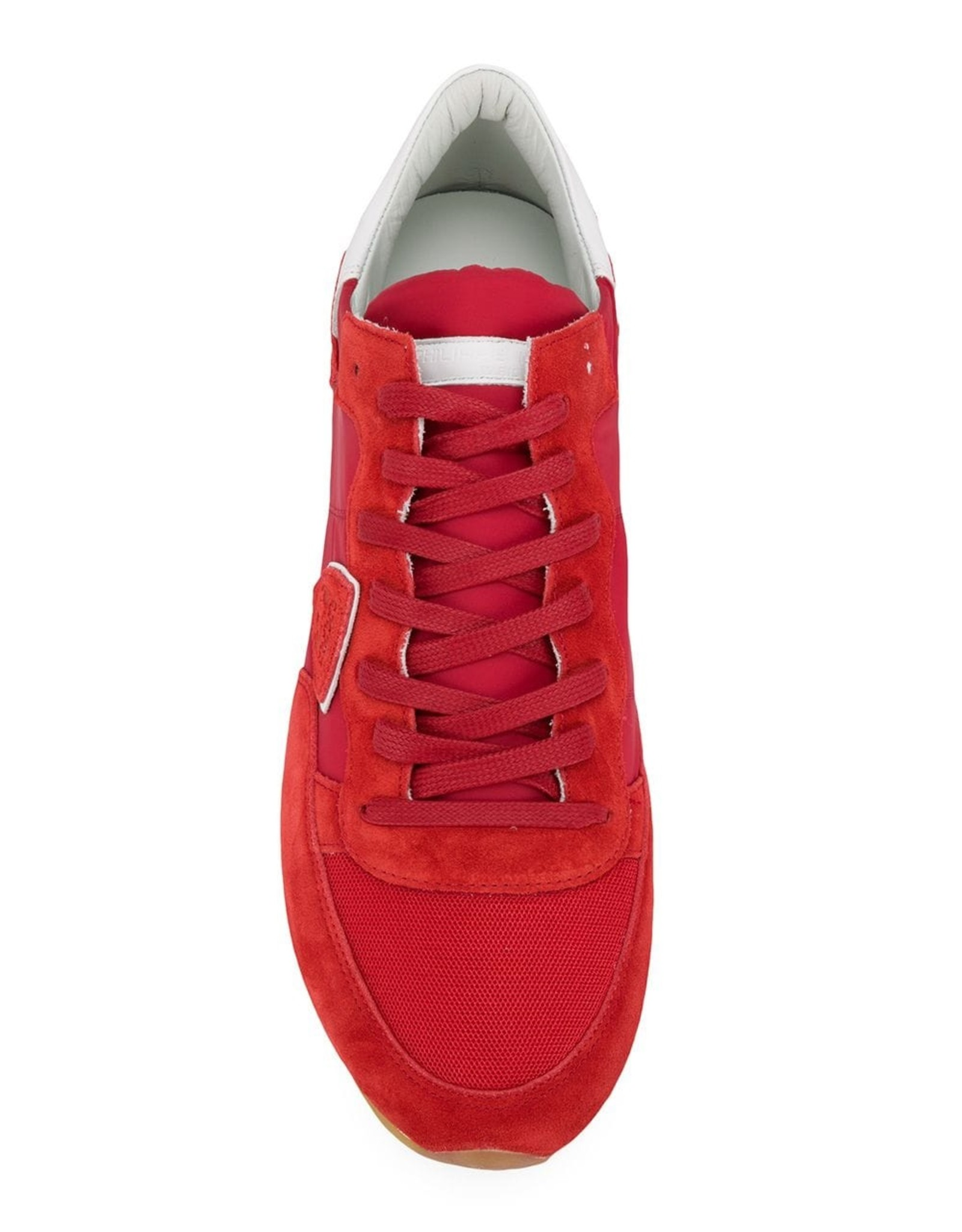 PHILIPPE MODEL  - The Tropez Mondial Sneaker In Red