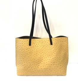 B.MAY BAGS - Resort Shopper in Yellow