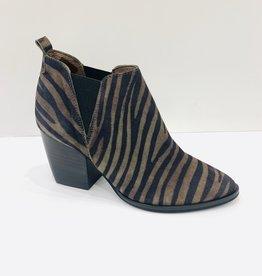WONDERS - Zebra Print Ankle Boots