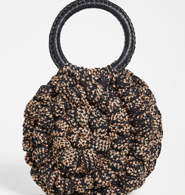 ULLA JOHNSON -Lia Round Crochet Tote