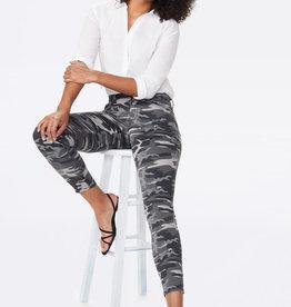 NYDJ - Ami Skinny Jeans Grey Camo