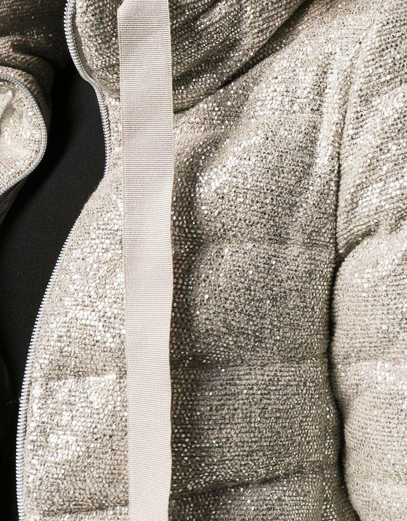 HERNO - Quilted Metallic Jacket