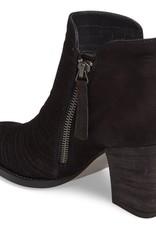 PAUL GREEN - The Malibu Ankle Boot in Black Nubuck