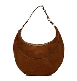 IL BISONTE - Elena Suede Hobo Bag