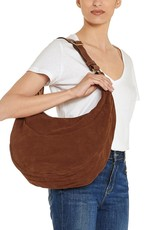 IL BISONTE - The Elena Hobo Bag in Suede