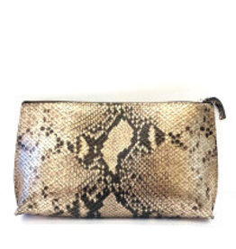 B.MAY BAGS - Clutch Bag in Python