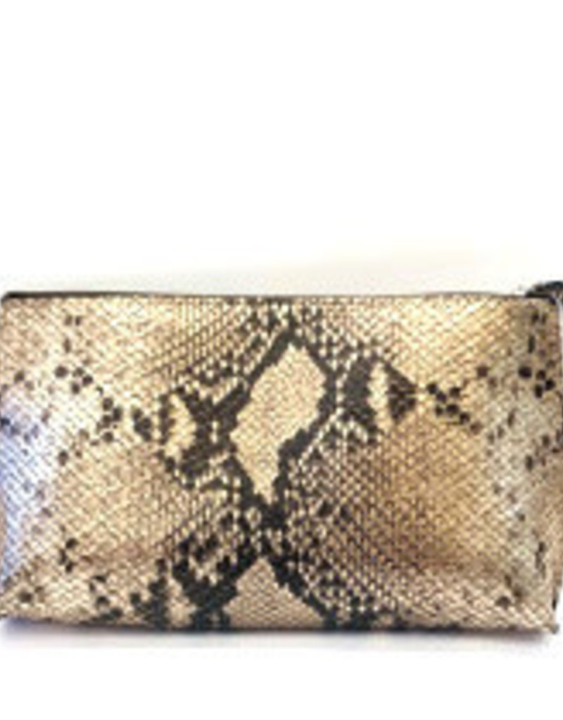 B.MAY BAGS - Clutch Pouch in Python