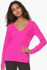 MAJESTIC - Cashmere Blend V-neck sweater
