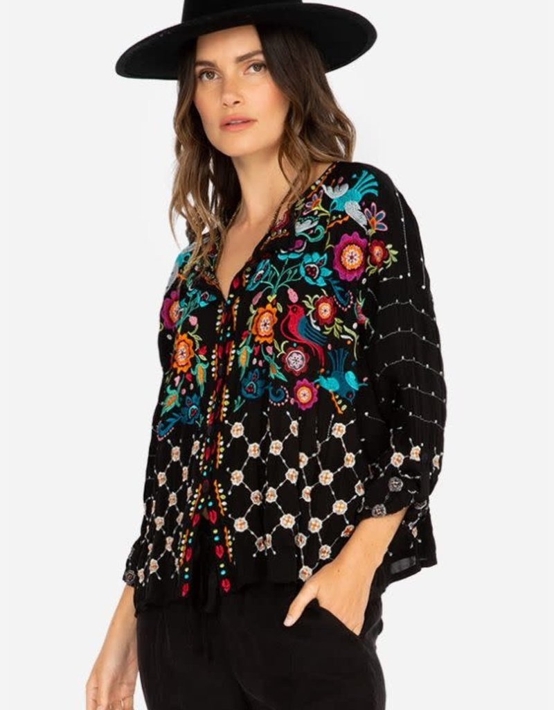 JOHNNY WAS - The Brady Button Down Blouse