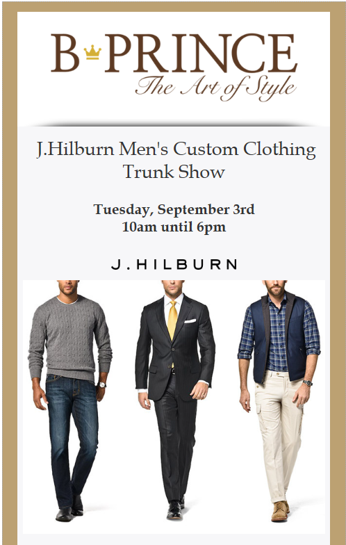 J. Hilburn Trunk Show