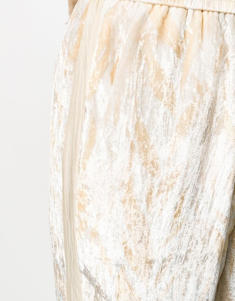 FORTE FORTE - Silk Print Pant