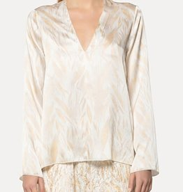FORTE FORTE - Silk Print Top