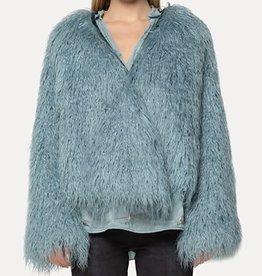 FORTE FORTE - Faux Fur Coat