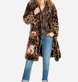 JOHNNY WAS - Eeshal Leopard Coat