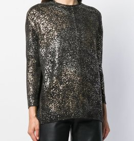 AVANT TOI - Metallic Cashmere Sweater