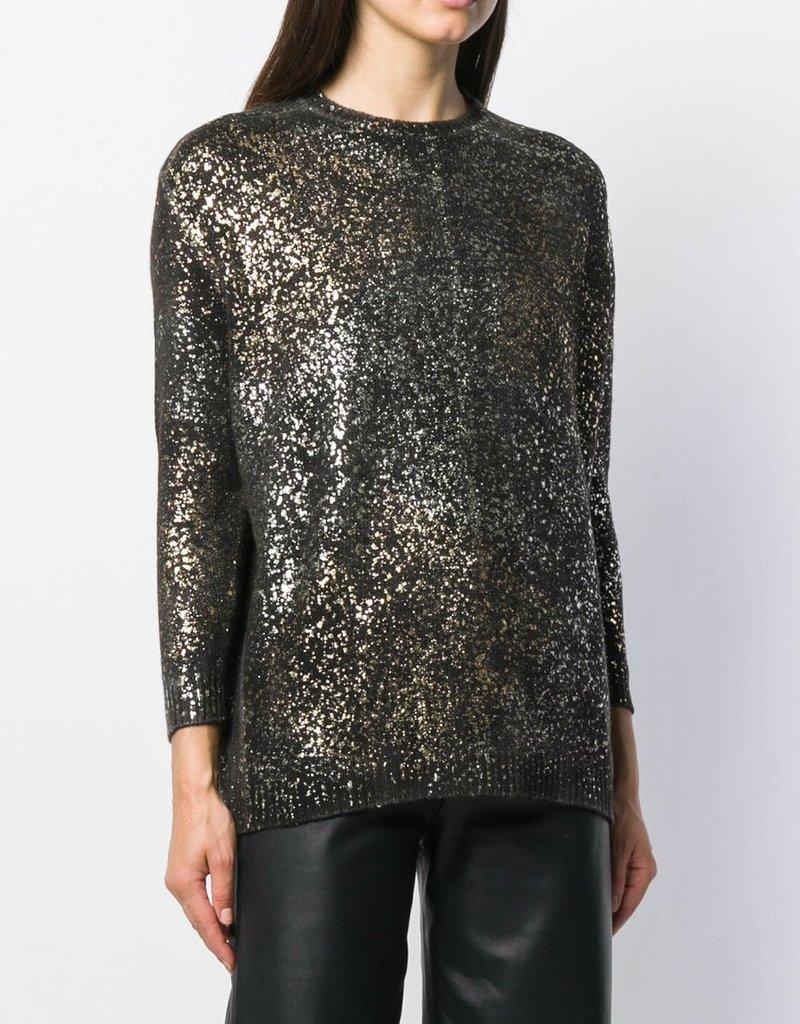 AVANT TOI - Metallic Cashmere Sweater