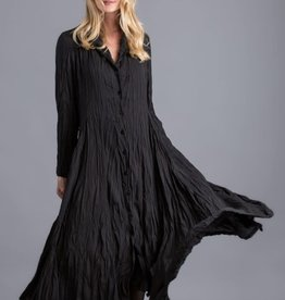 ALEMBIKA - Black Crushed Dress