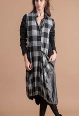 ALEMBIKA - Plaid Pocket Dress