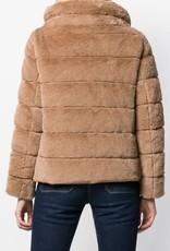 HERNO - Camel Ecofur Puffer Jacket