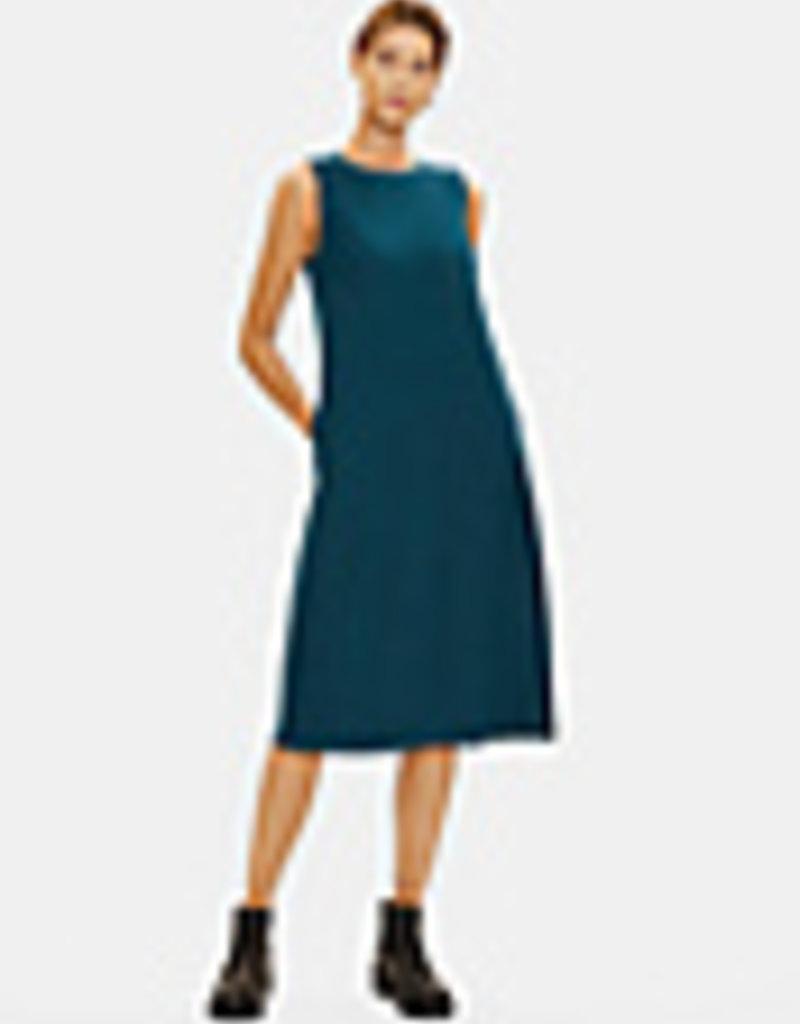EILEEN FISHER - Jersey Lantern Dress