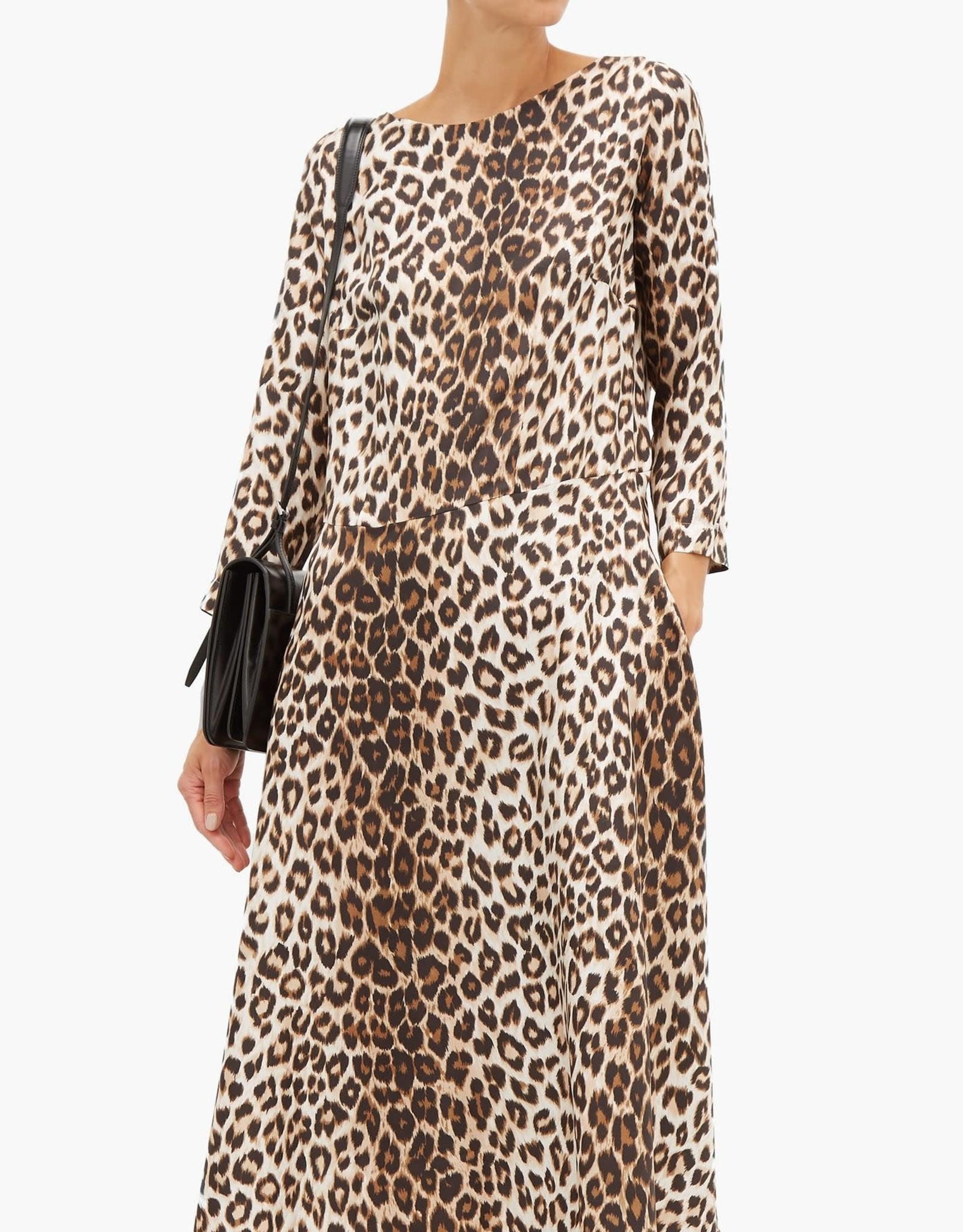 LA PRESTIC OUISTON Drespres Leopard Dress