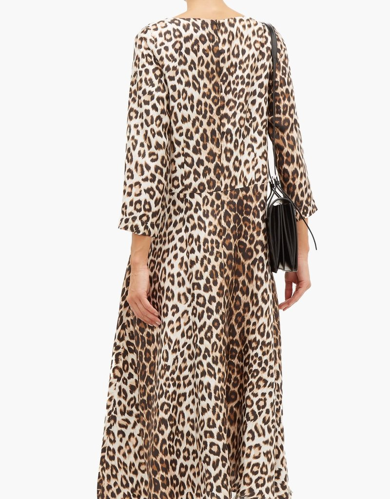 LA PRESTIC OUISTON Drespres Leopard Dress