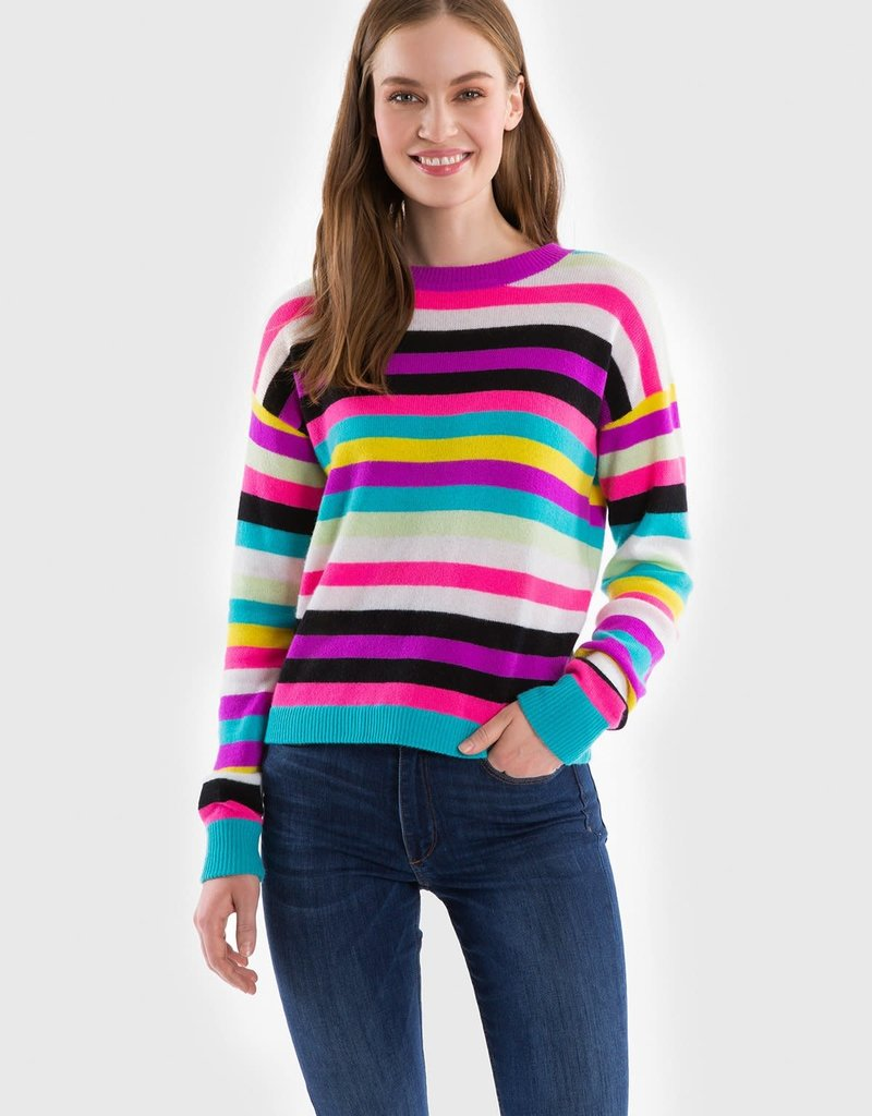 525 AMERICA - Stripe Cashmere Sweater