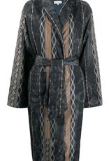 PIERRE-LOUIS MASCIA - Floral Print coat