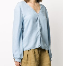 FORTE FORTE -V-neck Blouse