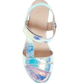 WONDERS - Iridescent Platform Sandal