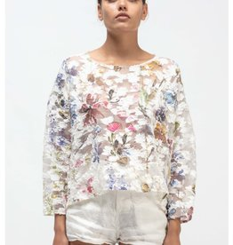 AVANT TOI - Sheer Floral Top